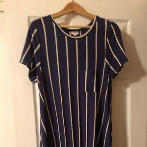 Lularoe VERTICAL Stripe Dress